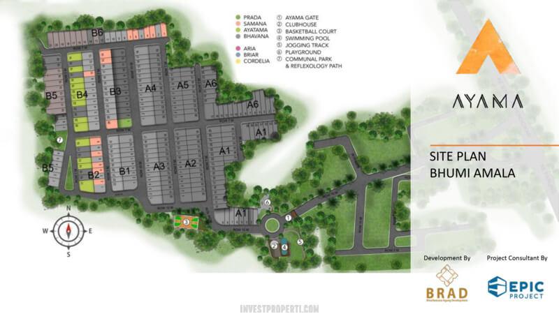 Siteplan Ayama Bhumi Amala Tangerang