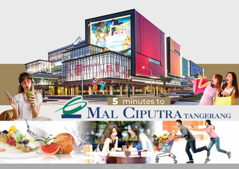 5 menit mall Ciputra Tangerang