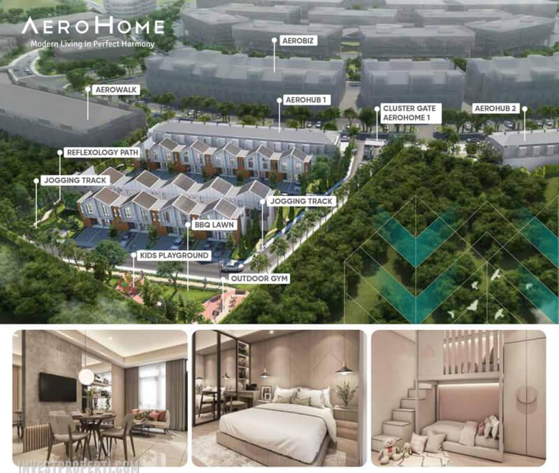 AeroHome Cemara Homes CitraGarden City Jakarta