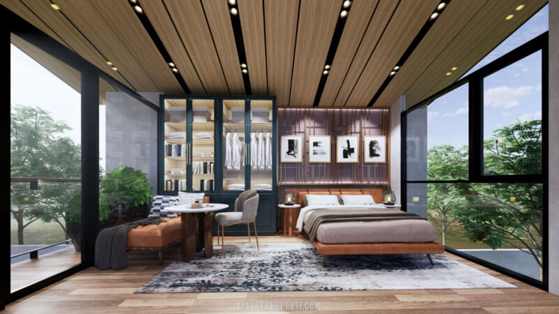 Interior Rumah Cendana Parc Lippo Karawaci Tipe Parc Residence - Lantai Atas
