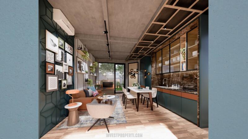 Interior Rumah Cendana Parc Lippo Karawaci Tipe Parc Residence - Lantai Bawah