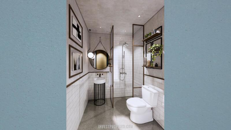 Interior Rumah Cendana Parc Lippo Karawaci Tipe Parc Residence - Toilet