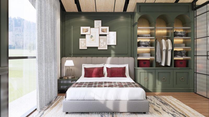 Interior Rumah Cendana Parc Lippo Karawaci Tipe Parc Sanctuary Lantai Atas Kamar Tidur