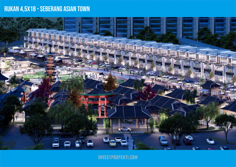 Rukan PIK2 Mega Kuningan Hadap Asian Town