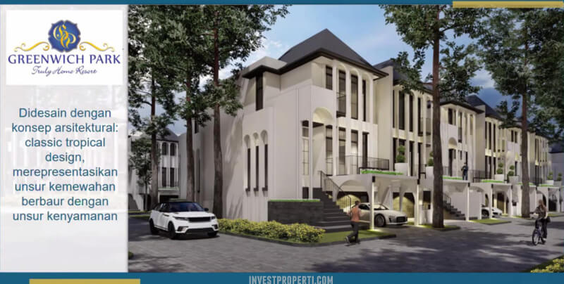 Rumah Cluster Aether Greenwich Park BSD