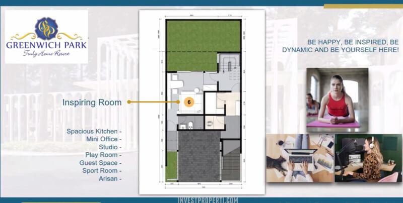 Rumah Aether BSD - Lantai Fasilitas - Inspiring Room