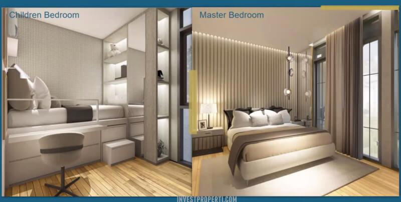 Rumah Aether BSD - Bedroom