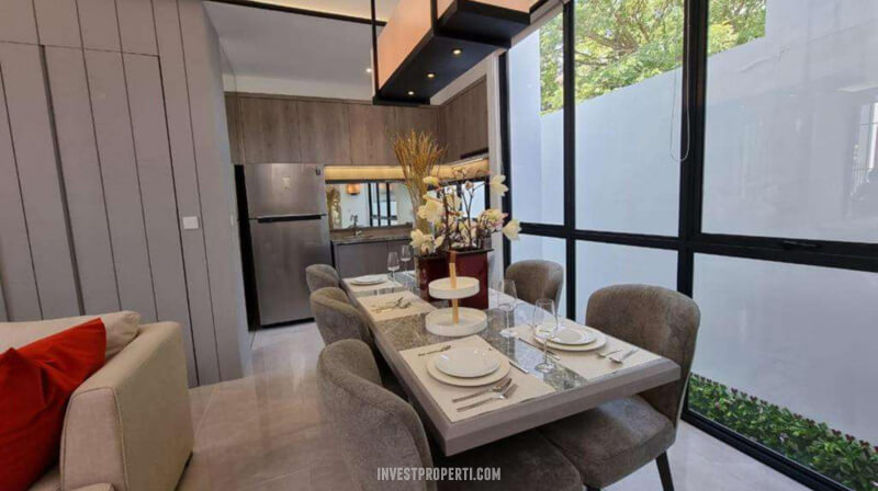 Show Unit Rumah Aether BSD - Dining Room