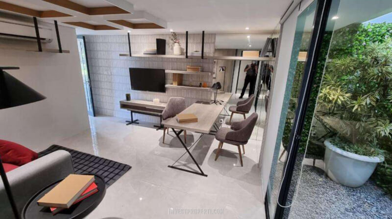 Show Unit Rumah Aether BSD - Family Room