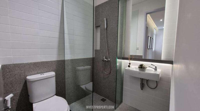 Show Unit Rumah Aether BSD - Toilet
