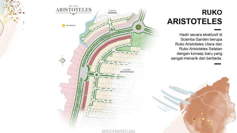Siteplan Ruko Aristoteles Gading Serpong