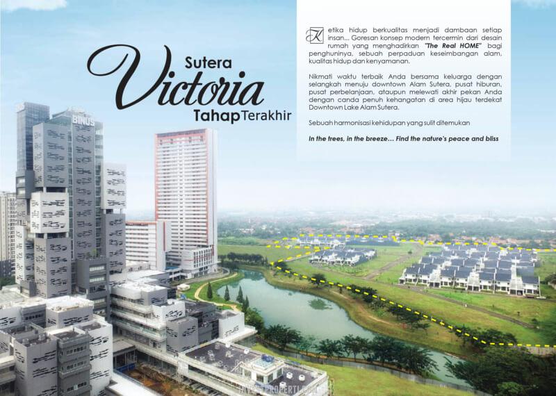 Sutera Victoria Alam Sutera Tahap Terakhir 2021