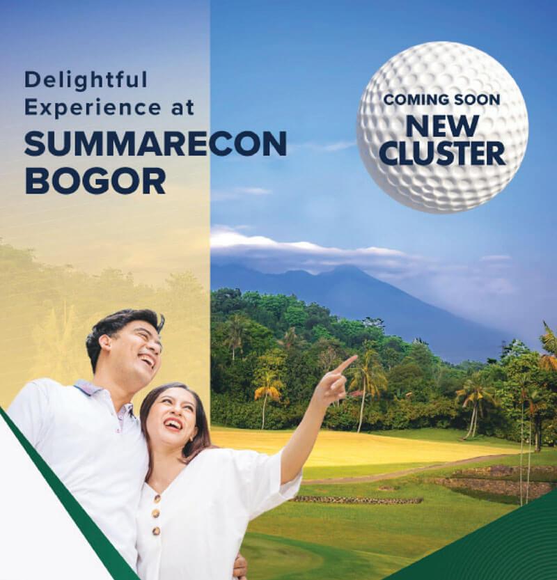 Cluster Baru Summarecon Bogor 2021