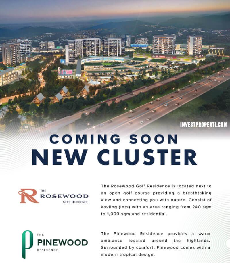 Cluster Rosewood & PInewood Summarecon Bogor