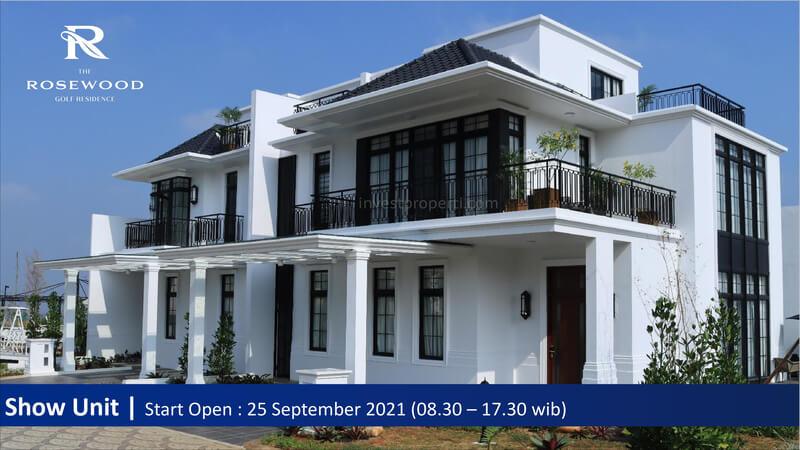 Foto Show Unit Rumah Rosewood Summarecon Bogor