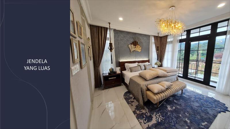 Master Bedroom Rumah Rosewood Summarecon Bogor