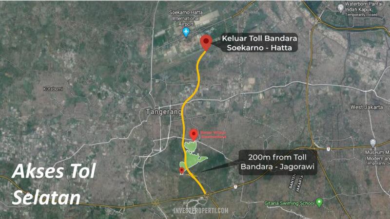 Akses Tol Banjar Wijaya