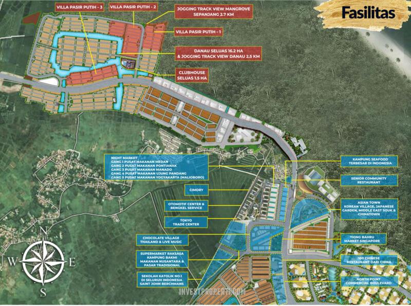 Fasilitas Sekitar Villa Pasir Putih PIK 2 Jakarta