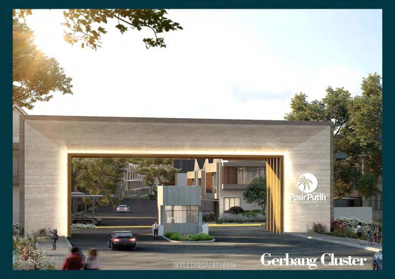 Gerbang Villa Pasir Putih 3 PIK 2 Jakarta