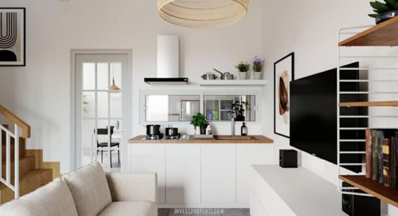 Interior Kitchen Rumah Cendana 88 Serpong
