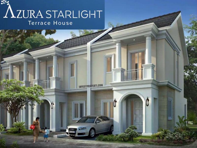 Rumah Azura Starlight Terrace House BSD