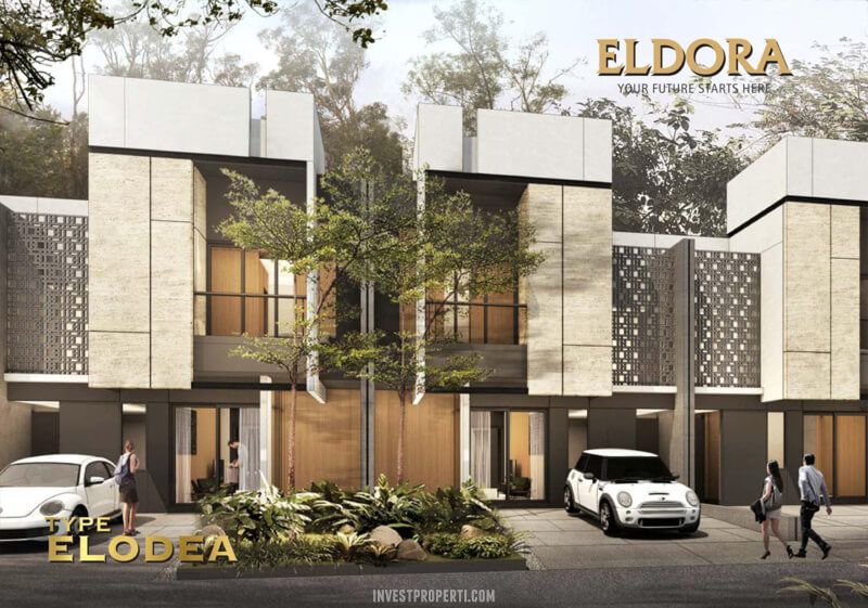 Rumah Eldora Suvarna Sutera Type Elodea