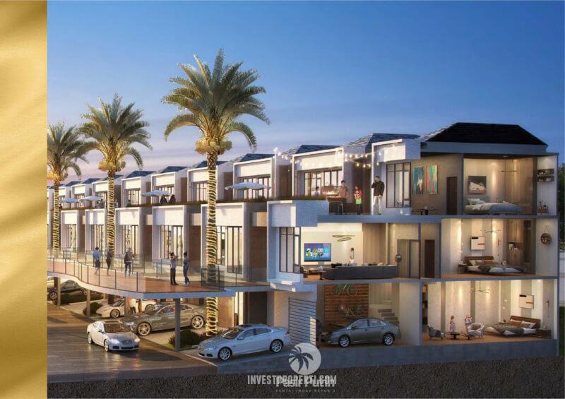 Rumah Villa Pasir Putih 1 PIK 2