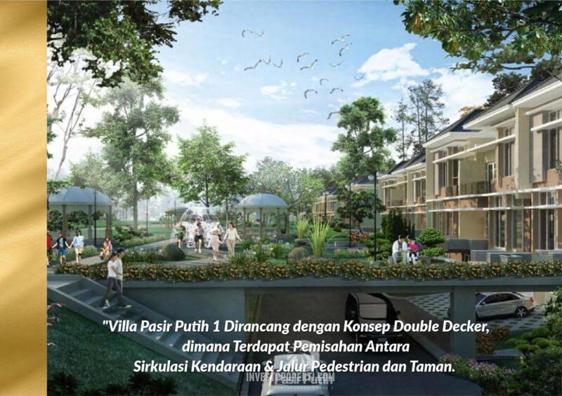 Villa Pasir Putih 1 PIK 2 - Double Decker