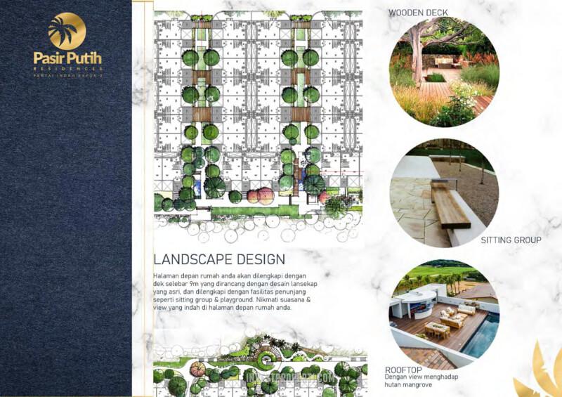 Villa Pasir Putih 1 PIK 2 - Landscape Desain