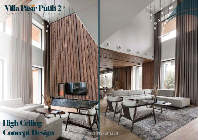 Villa Pasir Putih 2 PIK 2 - High Ceiling