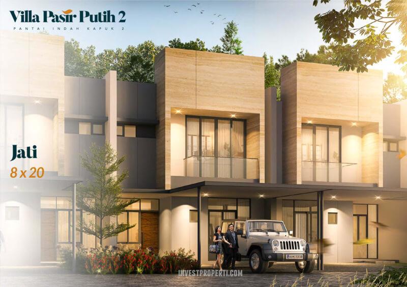 Villa Pasir Putih 2 PIK 2 TIpe Jati