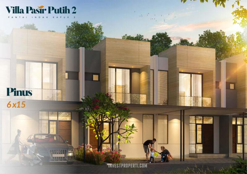 Villa Pasir Putih 2 PIK 2 TIpe Pinus