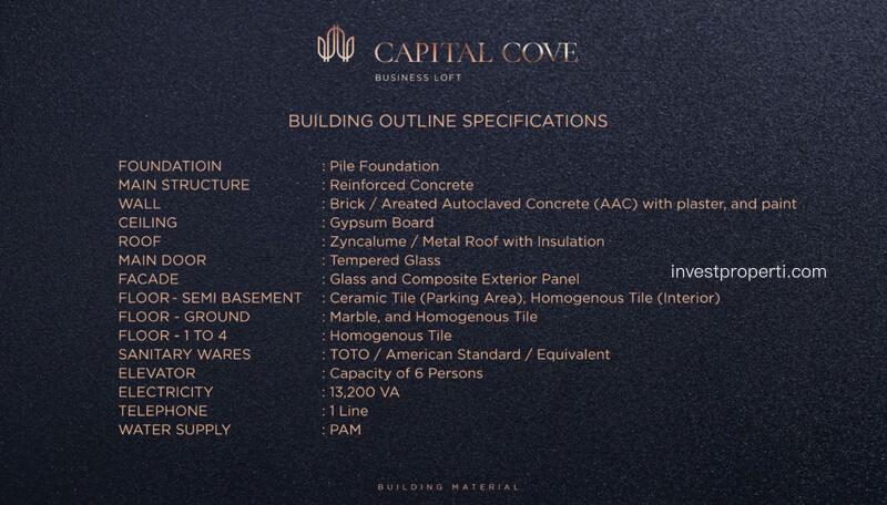Capital Cove Business Loft BSD Building Material