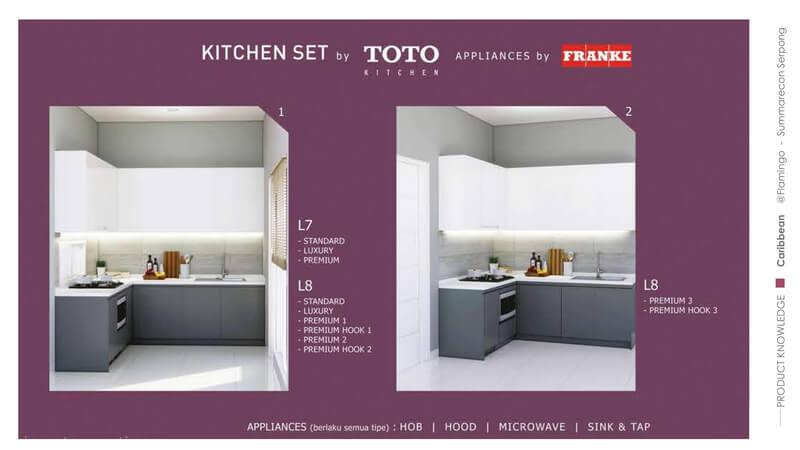 Promo Kitchen Set Rumah Caribbean Flamingo