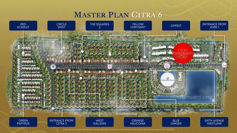 Master Plan Citra 6 Jakarta