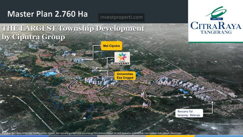 Master Plan Ciputra Tangerang 2021
