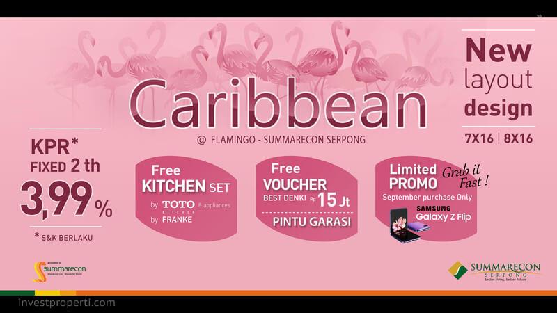 Promo Rumah Caribbean Flamingo