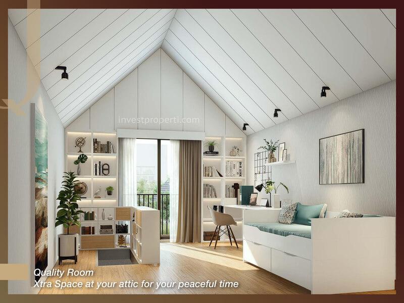 Rumah Quantis BSD Tipe 8 - Attic Room