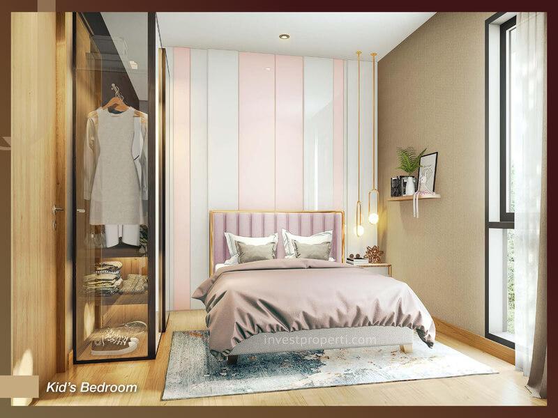 Rumah Quantis BSD Tipe 8 - Kids Room
