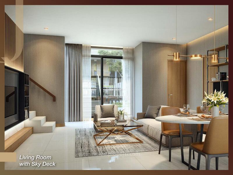Rumah Quantis BSD Tipe 9 - Living Room