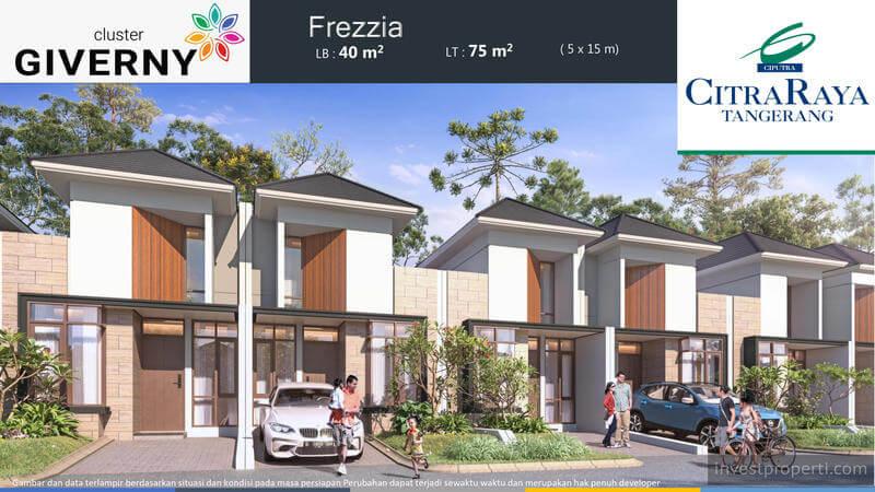 Rumah Frezzia Cluster Giverny CitraRaya