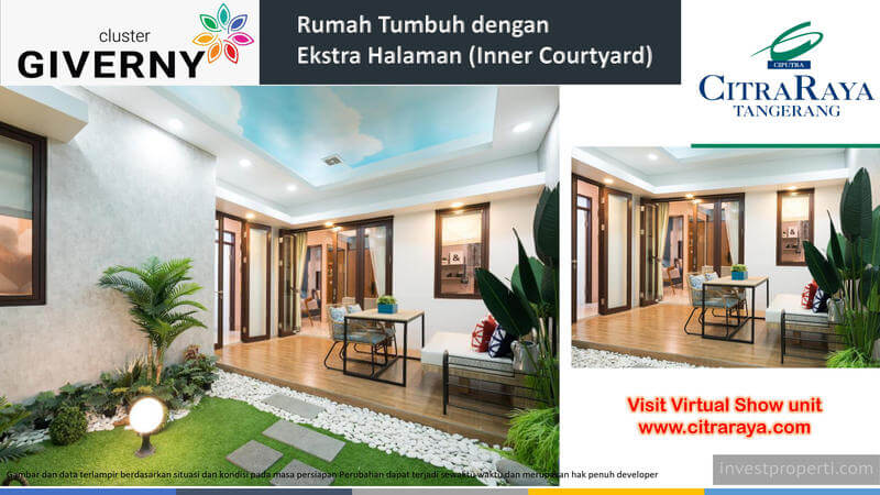 Rumah Giverny CitraRaya - Inner Court