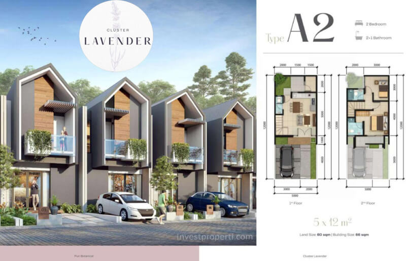 Rumah Lavender Puri Botanical Joglo Tipe A2