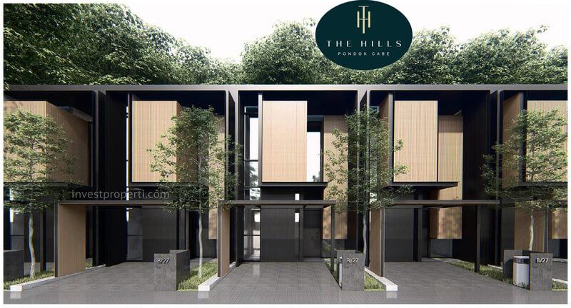 Rumah The Hills Pondok Cabe Tangerang