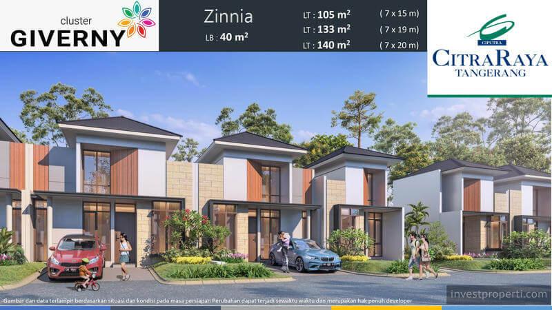 Rumah Zinnia Cluster Giverny CitraRaya