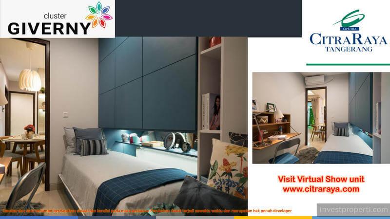 Show Unit Rumah Giverny CitraRaya - Bedroom