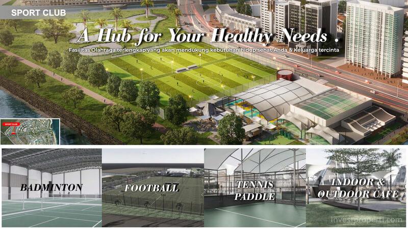 Sports Club PIK 2 Jakarta