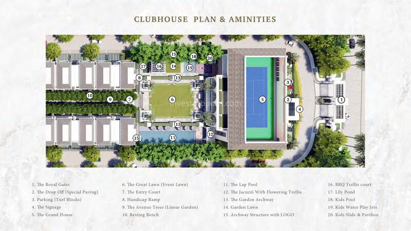Bukit Podomoro Club House Site Plan