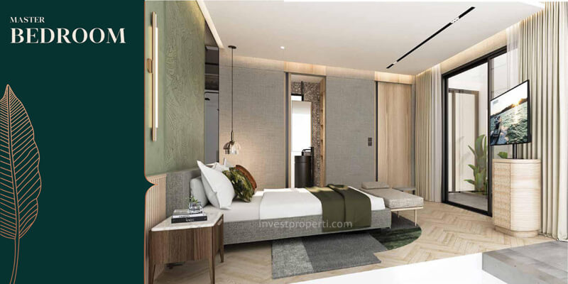 Desain Master Bedroom Rumah Anwa Puri