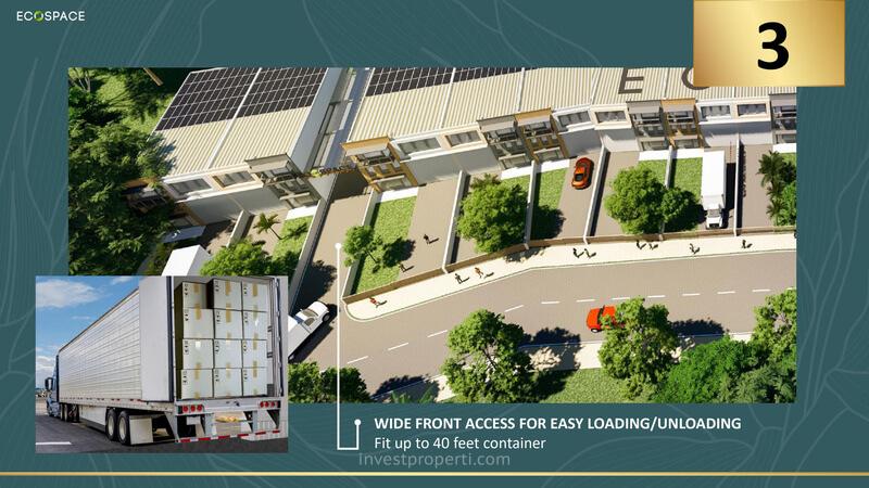 EcoSpace Business Park Karawang Akses Jalan Lebar